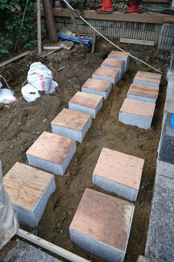 ペットと入れる樹木葬庭苑の工事中4